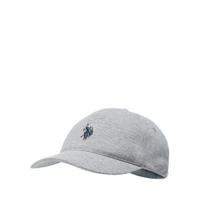 U.S. Polo Assn. - Kids  grey logo embroidered baseball cap 8b3474a0c1c