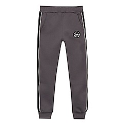 Hype - Boys' grey striped side jogging bottoms