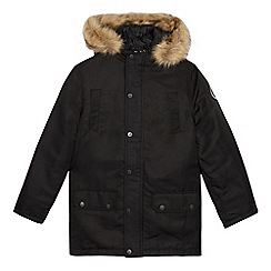 Hype - Boys' Black Parka Jacket