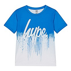 Hype - Kids' Blue Drip Logo T-Shirt