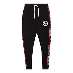 Hype - Boys' Black Side Logo Joggers