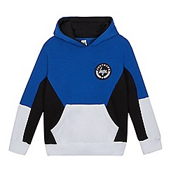 Hype - Boys' Blue Color Block Hoodie