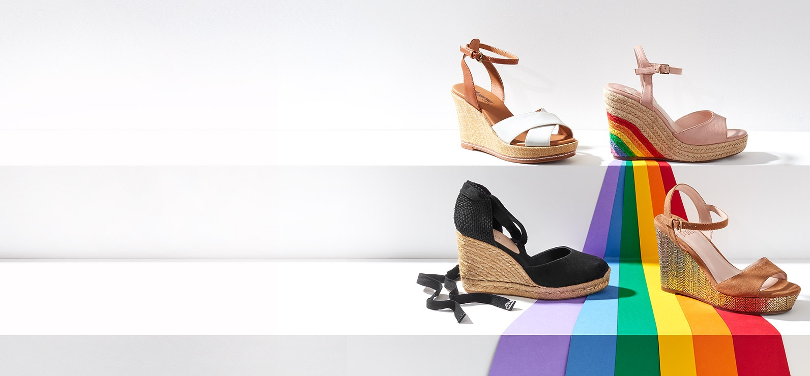 2a7e5dcad Smart steps. From luxe summer sandals, staple ankle boots and chic high  heels to ...
