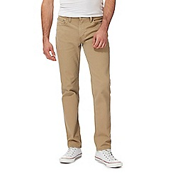 Levi's - Big and tall beige '511' slim twill trousers