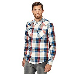 Levi's - Red checked regular fit shirt