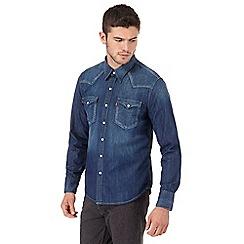Levi's - Blue denim western shirt