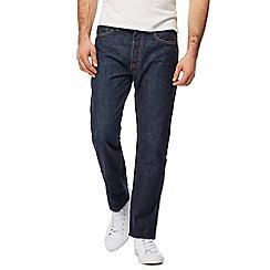 Levi's - Blue 501 straight leg jeans