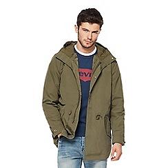Levi's - Khaki 2-in-1 parka coat