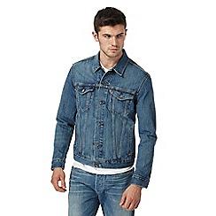 Levi's - Blue mid wash denim jacket