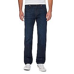 Wrangler - Blue 'Arizona' regular fit jeans