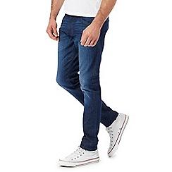 Wrangler - Blue 'Bryson' skinny jeans