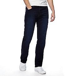 Wrangler - Big and tall dark blue 'arizona' jeans