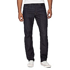 Lee - Dark blue 'Brooklyn' regular fit jeans