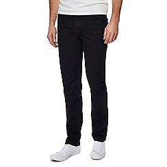 Lee - Black 'Daren' straight leg jeans