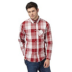 Lee - Red checked regular fit shirt