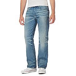 G-Star - Blue mid wash vintage wash jeans