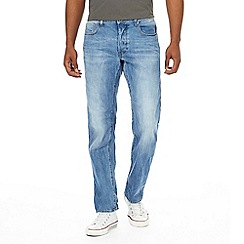 G-Star - Blue straight jeans