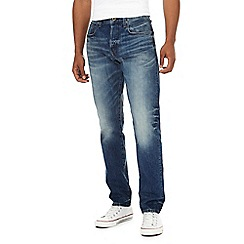 G-Star - Blue '3301' tapered jeans