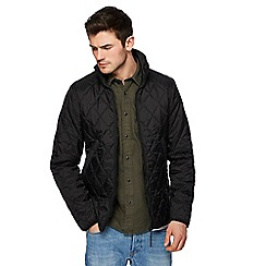 G-Star - Black quilted shirt jacket