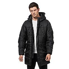 G-Star - Black padded hooded parka