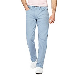 Levi's - Big and tall pale blue '514' regular fit straight leg jeans