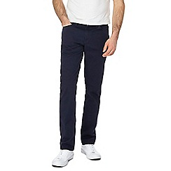 Levi's - Big and tall navy '511®' 'Twill' slim jeans