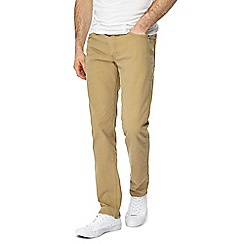 Levi's - Big and tall beige '511®' 'Twill' slim jeans