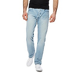 Levi's - Light blue '501' straight leg jeans