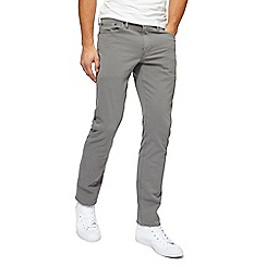 Levi's - Big and tall grey '511' slim leg jeans