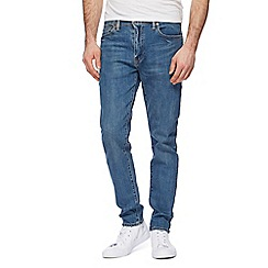 Levi's - Blue '512' skinny tapered jeans