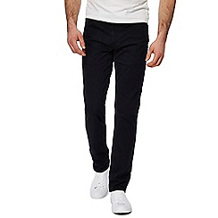 Levi's - Big and tall black '511' slim twill trousers