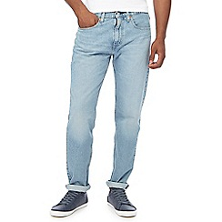 Levi's - Light blue light wash '502' tapered fit jeans