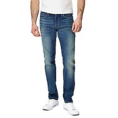 Levi's - Blue vintage wash '511' slim fit jeans