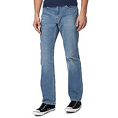 Levi's - Big and tall light blue 514 straight leg jeans