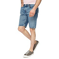 Levi's - Light blue denim shorts