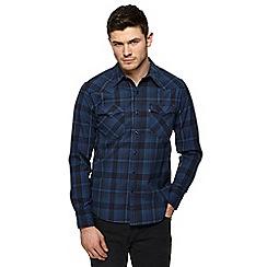 Levi's - Navy checked shirt