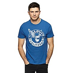 Levi's - Blue wing wheel graphic print t-shirt