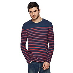 Levi's - Red striped print t-shirt