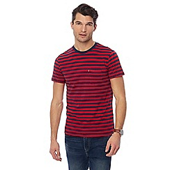 Levi's - Red striped pocket t-shirt