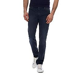 Wrangler - Blue 'Larston' slim tapered jeans