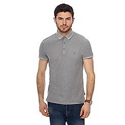 Wrangler - Grey 'Refined' polo shirt