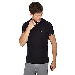 Wrangler - Black tipped polo shirt