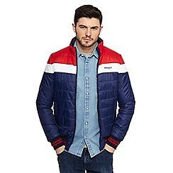 Wrangler - Multicoloured colour block padded jacket