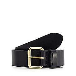 Wrangler - Navy leather belt