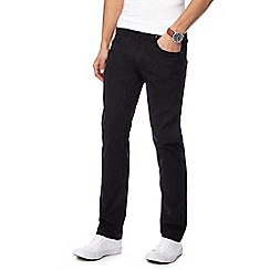 Lee - Black 'Daren' straight leg jeans