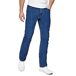 Lee - Blue 'Brooklyn' regular fit jeans