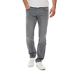 Lee - Grey 'Darren' regular fit jeans