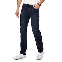 Lee - Navy 'Darren' regular fit jeans