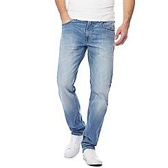 Lee - Blue 'Daren' straight leg jeans