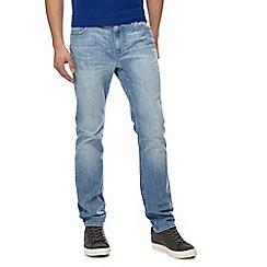 Lee - Blue 'Rider' slim leg jeans